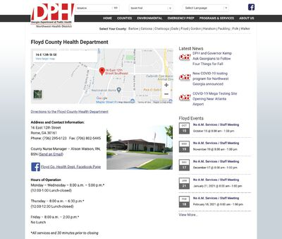STD Testing at Floyd County Health Department