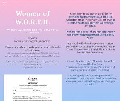 STD Testing at Women of W.O.R.T.H.