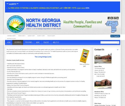 STD Testing at Cherokee County Health Department