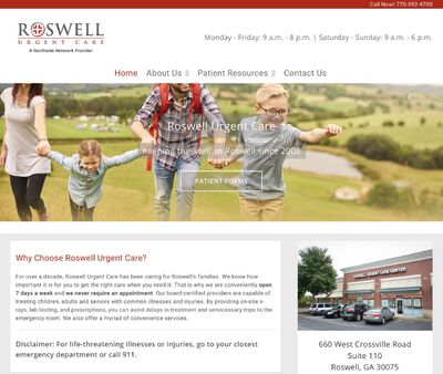 STD Testing at Roswell Urgent Care
