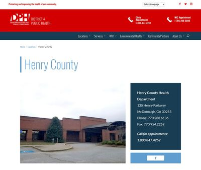 STD Testing at Henry County Health Dept.