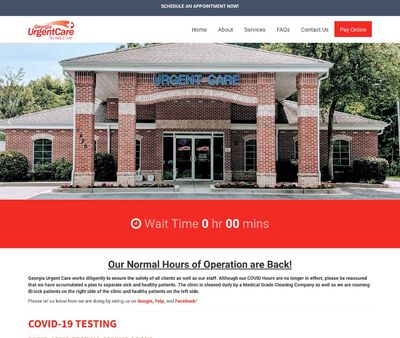 STD Testing at Georgia Urgent Care