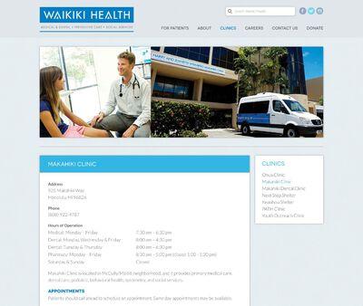 STD Testing at Makahiki Health Center