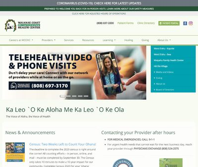 STD Testing at West Oʻahu Community Health