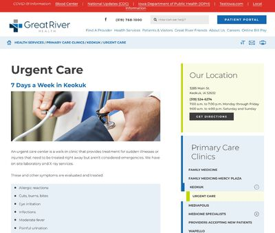 STD Testing at Great River Health