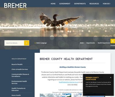 STD Testing at Bremer County Health Department
