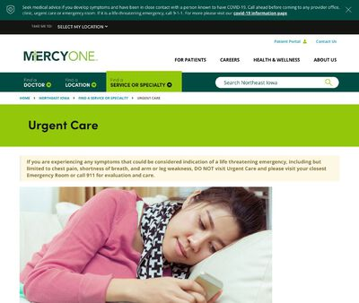 STD Testing at MercyOne Bluebell Road Urgent Care