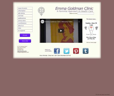 STD Testing at Emma Goldman Clinic