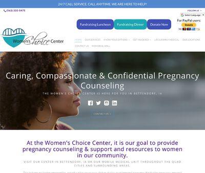 STD Testing at Women's Choice Center Bettendorf