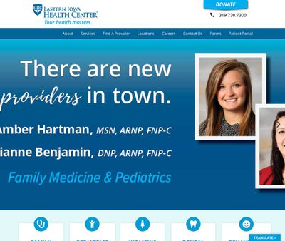 STD Testing at Eastern Iowa Health Center - Women's Health