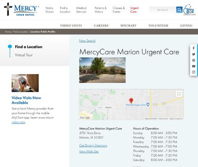 STD Testing at MercyCare Marion Urgent Care