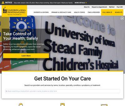 STD Testing at University of Iowa Hospitals & Clinics