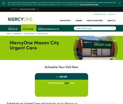 STD Testing at MercyOne Mason City Urgent Care