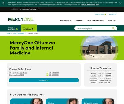 STD Testing at MercyOne Ottumwa Family Medicine Clinic