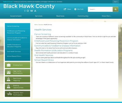 STD Testing at Black Hawk County