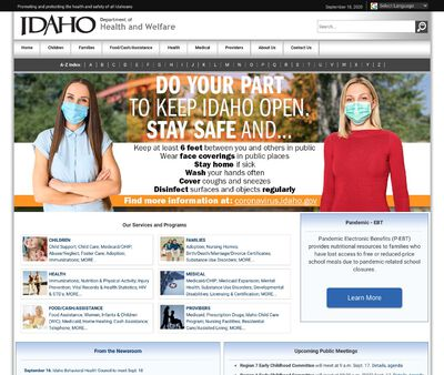 STD Testing at Idaho Department of Health and Welfare