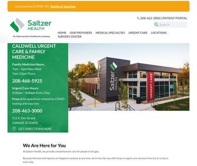 STD Testing at Saltzer Health Caldwell Urgent Care & Family Medicine