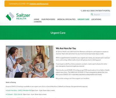 STD Testing at Saltzer Health Urgent Care