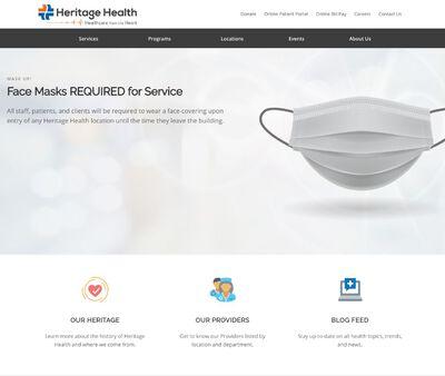 STD Testing at Heritage Health