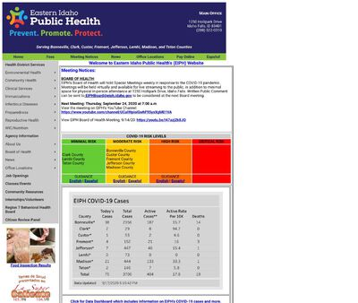STD Testing at Eastern Idaho Public Health District (Fremont County Office)