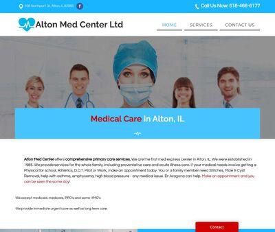 STD Testing at Alton Med Center Ltd