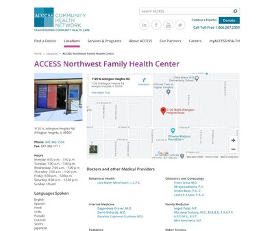 STD Testing at Access Northwest Community Family Health Center