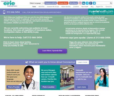 STD Testing at Erie Family Health Center Incorporated - Erie Evanston/Skokie Health Center