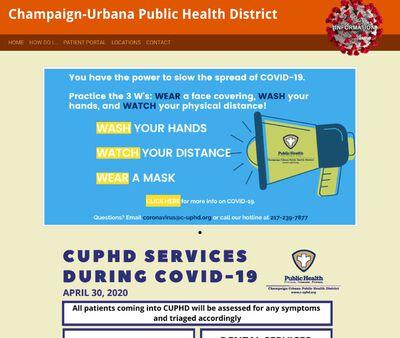 STD Testing at Champaign-Urbana Public Health District