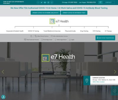 STD Testing at e7 Health