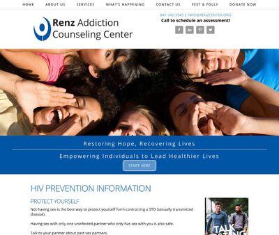 STD Testing at Renz Addiction Counseling Center (HIV Prevention Program)