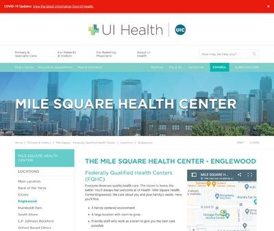 STD Testing at Mile Square Health Center – Engelwood