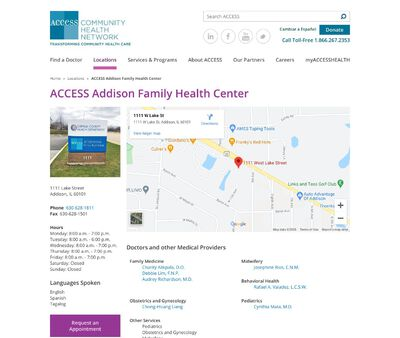 STD Testing at Access Community Health Network, Addison Family Health Center