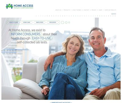 STD Testing at Home Access Health Corporation