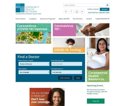 STD Testing at Access Community Health Network (Holy Cross Clinic)