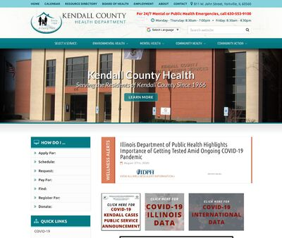STD Testing at Kendall County Health Department