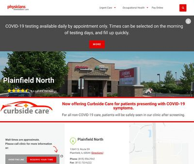 STD Testing at Physicians Immediate Care - Plainfield North
