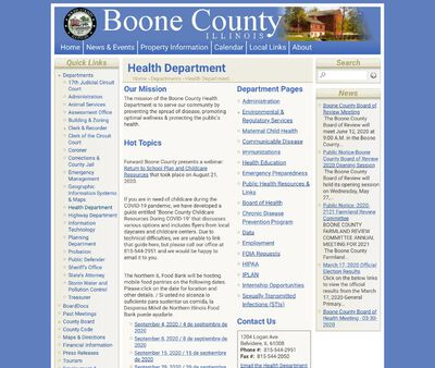STD Testing at Boone County Health Department