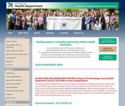 STD Testing at Winnebago County Health Department