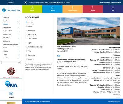STD Testing at VNAHealth Center Bensenville