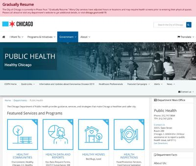STD Testing at Chicago Department of Public Health – Lakeview STI Specialty Clinic
