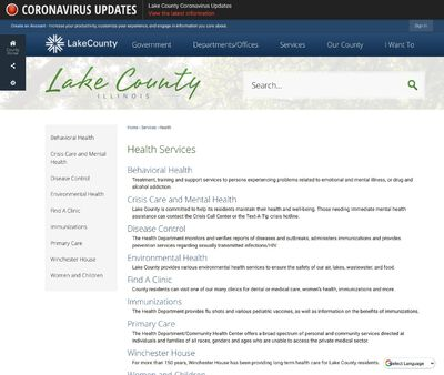 STD Testing at Lake County Health Department and Community Health Center (North Chicago Health Center)