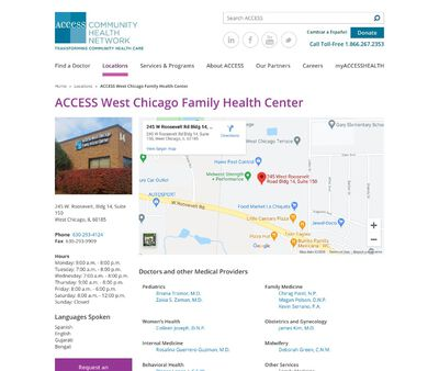 STD Testing at ACCESS West Chicago Family Health Center