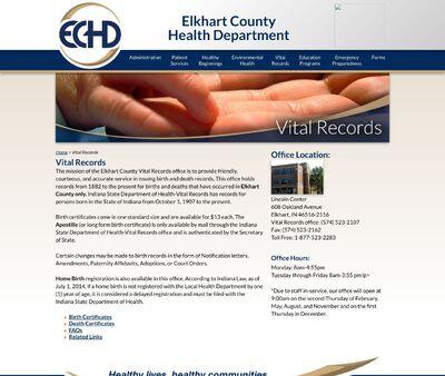 STD Testing at Elkhart County Health Department (ECHD)