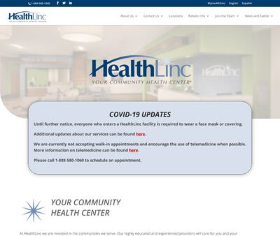STD Testing at HealthLinc Community Health Center