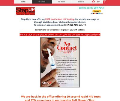 STD Testing at Step-up Inco-operated