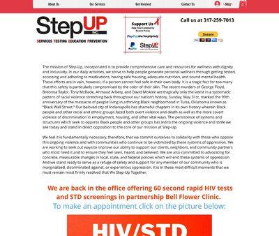 STD Testing at Step Up Inc.