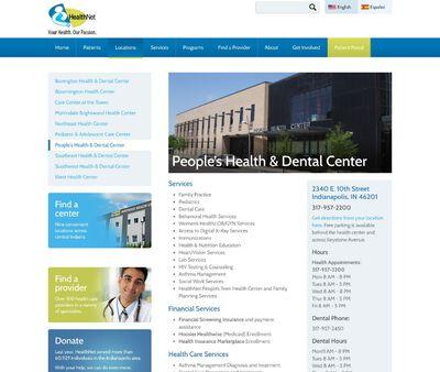 STD Testing at HealthNet People's Health & Dental Center