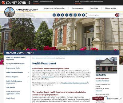 STD Testing at Hamilton County Health Department