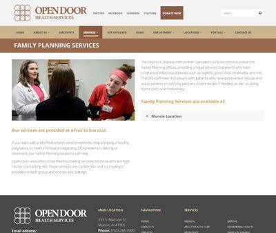 STD Testing at Open Door Family Planning