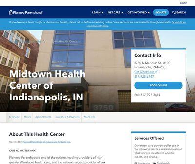 STD Testing at Planned Parenthood - Midtown Health Center